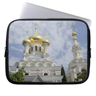 Exterior of Saint Alexander Nevsky Cathedral 2 Laptop Sleeve