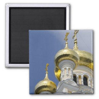 Exterior of Saint Alexander Nevsky Cathedral 3 Magnet