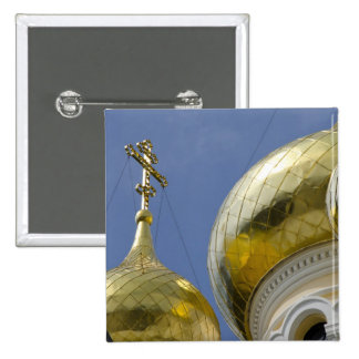 Exterior of Saint Alexander Nevsky Cathedral 4 15 Cm Square Badge