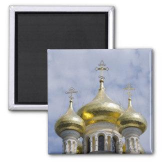 Exterior of Saint Alexander Nevsky Cathedral Magnet