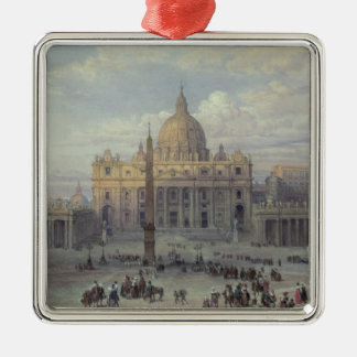 Exterior of St. Peter's Christmas Ornament
