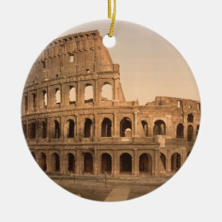 Exterior of the Colosseum, Rome, Italy Christmas Ornament