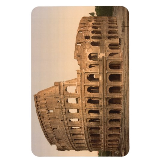 Exterior of the Colosseum, Rome, Italy Rectangular Photo Magnet