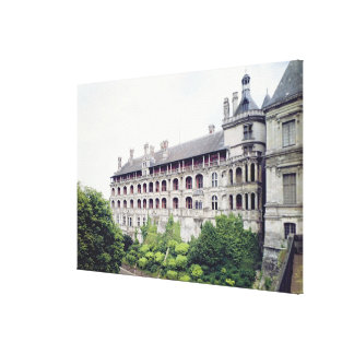 Exterior of the Facade des Loges Canvas Print