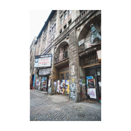 Exterior of the Kunsthaus Tacheles Stretched Canvas Prints