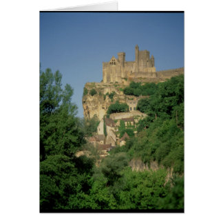 Exterior view from the lower cliffs greeting card