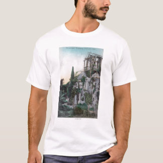 Exterior View of a Picturesque Residence T-Shirt