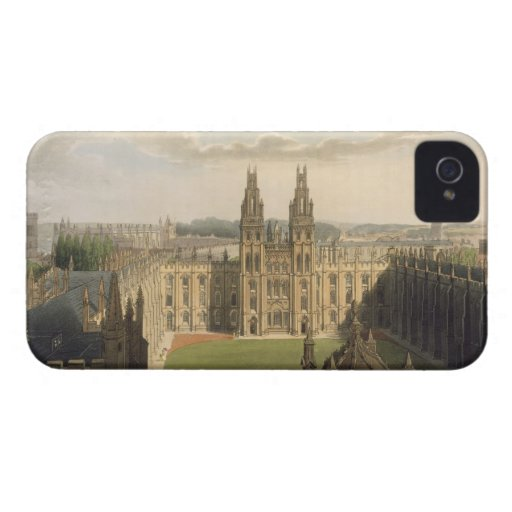 Exterior view of All Souls College, taken from the iPhone 4 Cover