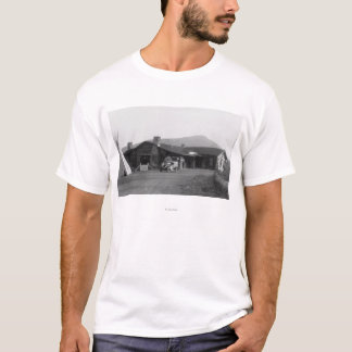 Exterior View of an Native American Tribal T-Shirt