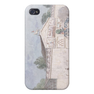 Exterior view of Astley's Amphitheatre, 1777 iPhone 4 Covers
