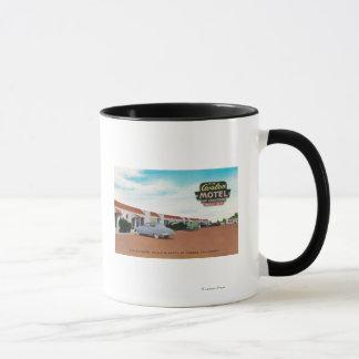 Exterior View of Avalon MotelFresno, CA Mug
