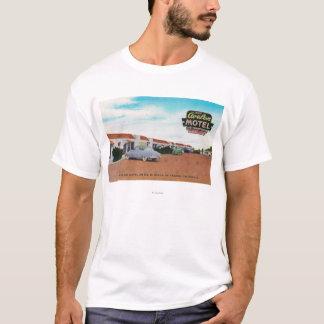 Exterior View of Avalon MotelFresno, CA T-Shirt
