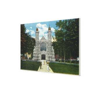 Exterior View of Bates College Chapel Canvas Print