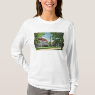 Exterior View of Boardman Hall and the Library T-Shirt