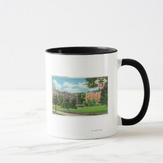 Exterior View of Cadet Barracks and Gymnasium Mug