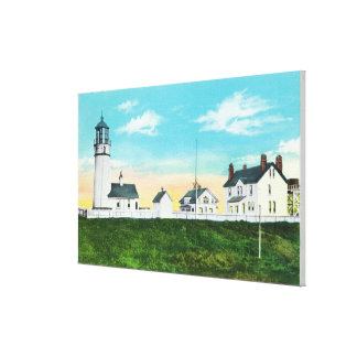 Exterior View of Cape Blanco LighthouseCoast Canvas Print