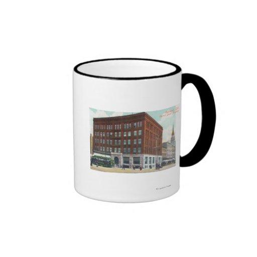 Exterior View of Central Bank BldgOakland, CA Coffee Mug