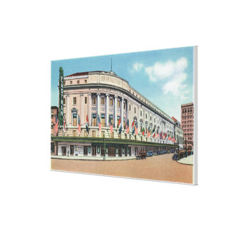 Exterior View of Eastman Theatre & School of Canvas Print