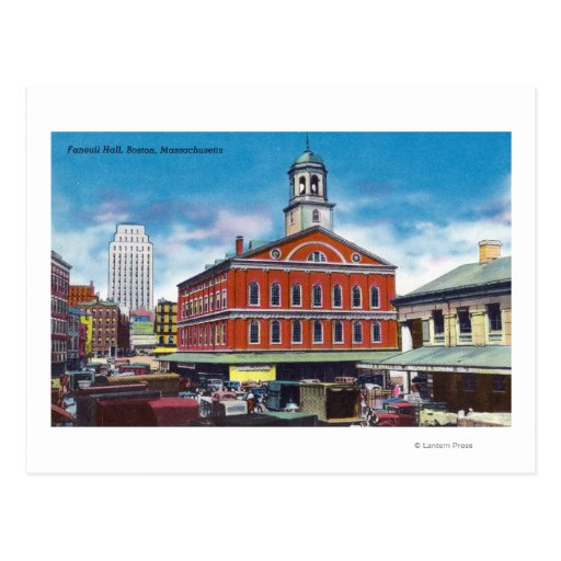 Exterior View of Faneuil Hall Postcards