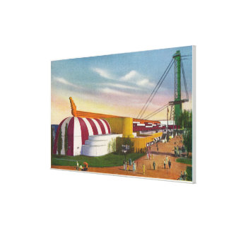 Exterior View of Food & Agricultural Bldg Canvas Print