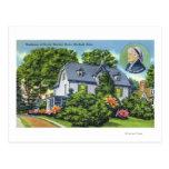 Exterior View of Harriet Beecher Stowe's Post Card
