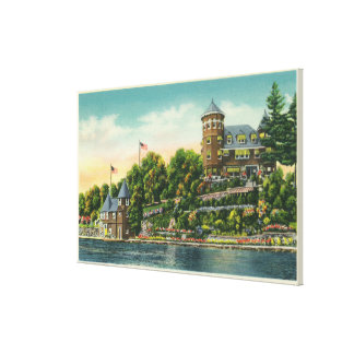 Exterior View of Hopewell Hall Gallery Wrapped Canvas