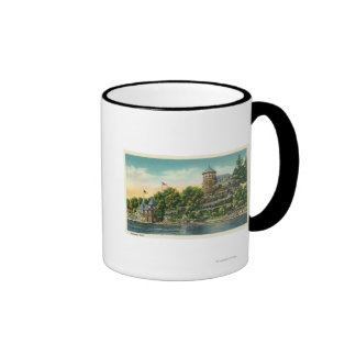 Exterior View of Hopewell Hall Coffee Mugs