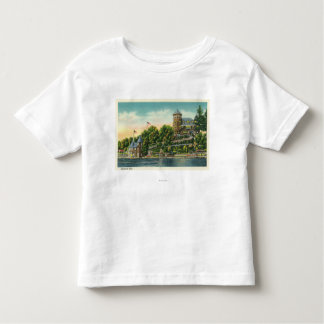 Exterior View of Hopewell Hall Toddler T-Shirt