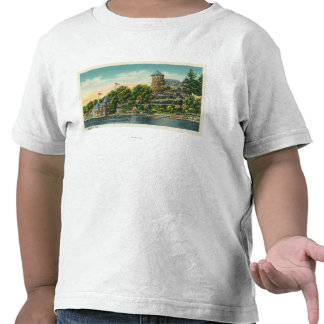 Exterior View of Hopewell Hall Tshirt