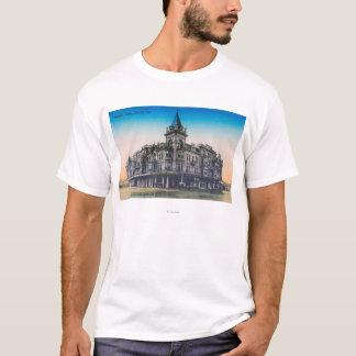 Exterior View of Hughes HotelFresno, CA T-Shirt