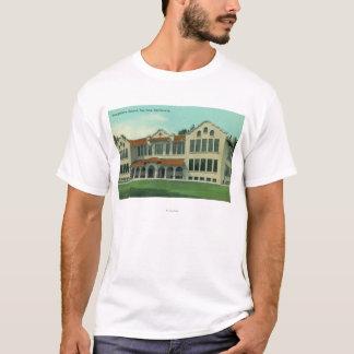 Exterior View of Longfellow School T-Shirt