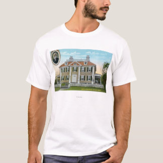 Exterior View of Longfellow's Home # 2 T-Shirt