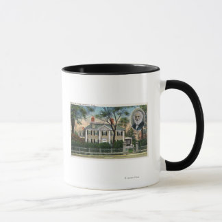 Exterior View of Longfellow's Home Mug