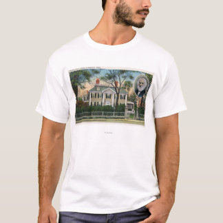 Exterior View of Longfellow's Home T-Shirt