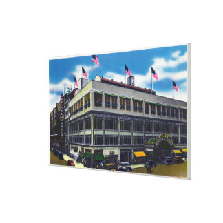 Exterior View of Madison Square Garden Canvas Print