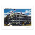 Exterior View of Madison Square Garden Postcard