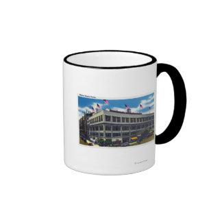 Exterior View of Madison Square Garden Ringer Mug