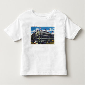 Exterior View of Madison Square Garden Tshirts