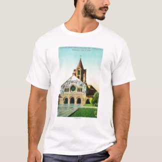 Exterior View of Memorial Church at Stanford U T-Shirt
