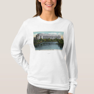 Exterior View of Museum of Fine Arts from T-Shirt