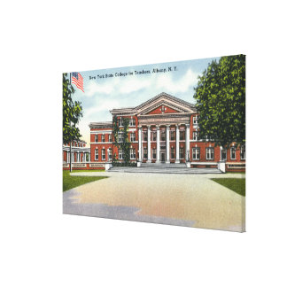 Exterior View of NY State College for Teachers Canvas Print