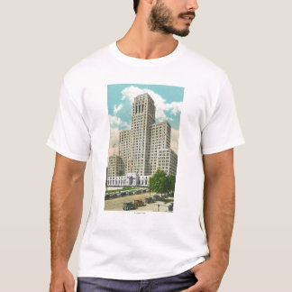 Exterior View of NY State Office Bldg T-Shirt