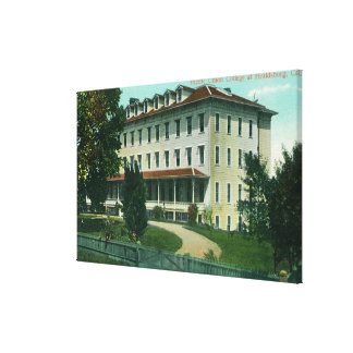 Exterior View of Pacific Union College Canvas Print