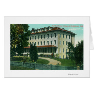 Exterior View of Pacific Union College Card