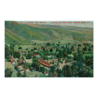 Exterior View of Paraiso Hot Springs and Gardens Poster