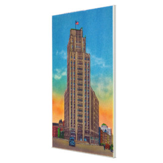 Exterior View of State Tower Building Canvas Print