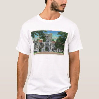 Exterior View of Taylor Hall, Vassar College T-Shirt