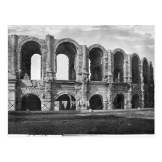 Exterior view of the amphitheatre postcard