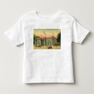Exterior View of the Apple Annual Building Toddler T-Shirt