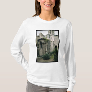 Exterior view of the apsidiole of the Abbey T-Shirt